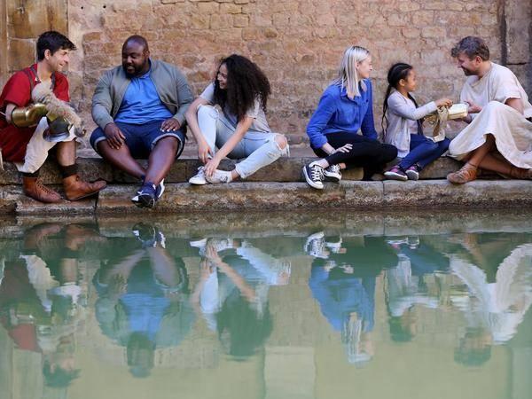 2020英国亲子旅行灵感   千年浴场的穿越时光