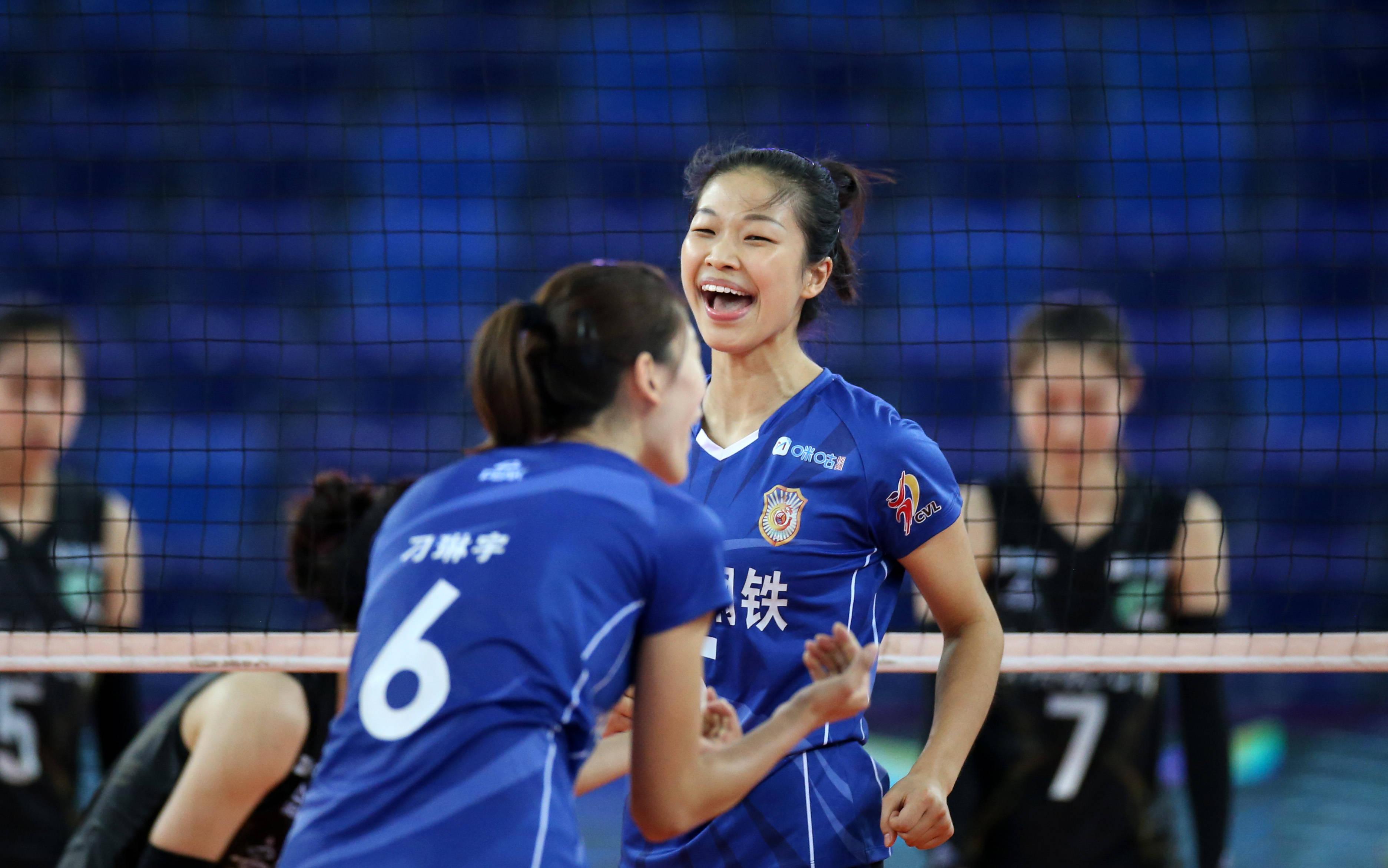 排球——全国女排锦标赛:江苏胜福建