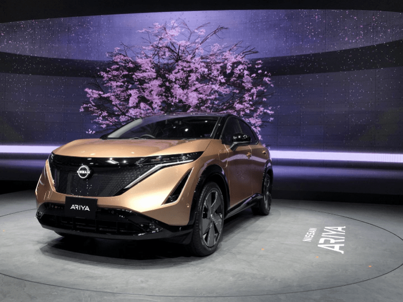 日产全新纯电跨界SUV Ariya中国首秀