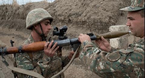 亚美尼亚军方:已摧毁阿塞拜疆多枚重型喷火器