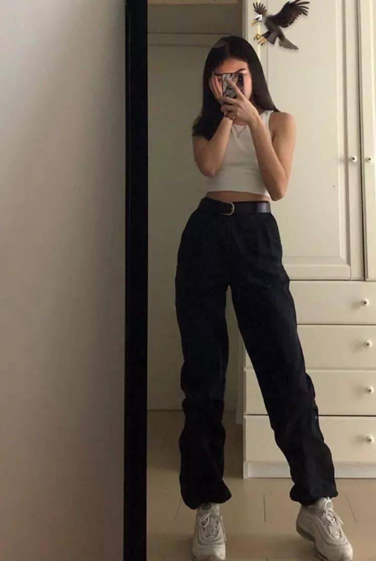 3拖地裤,揭秘裤长和腿长的关系!