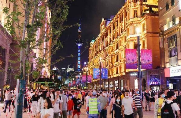 """上海:""""黄金周""""消费同比增长13.7%!""""金九银十""""背后是这些""""底气""""在撑腰!"""