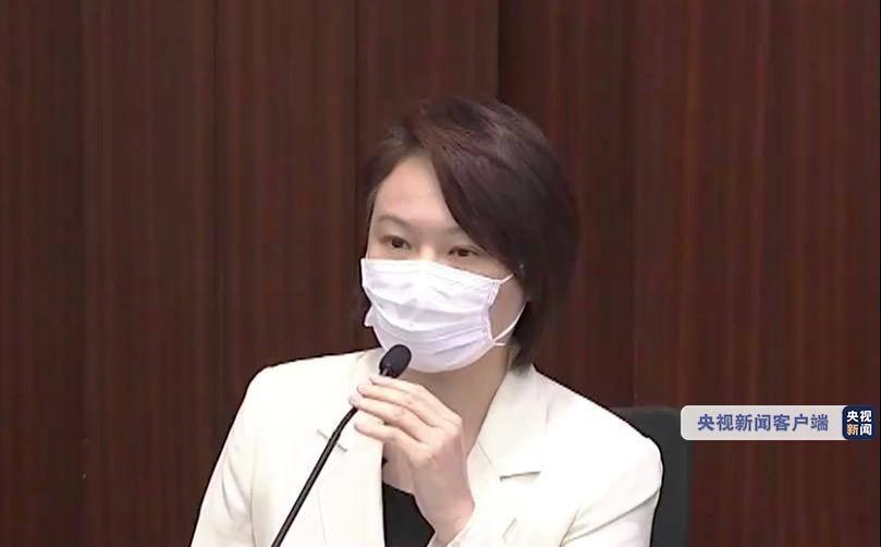 香港立法会选出新一年度内务委员会主席 香港民建联李慧琼连任