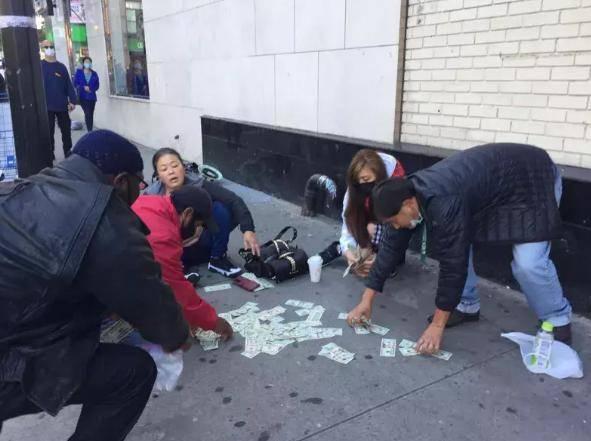 <strong>韩国女人纽约被抢 美元散落一地 中国女</strong>
