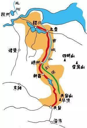 """浙江启动""""浙东唐诗之路""""建设:将恢复沿线山水和文化之路"""