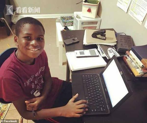 12岁黑人神童成美国大学学航天工程最年轻的人