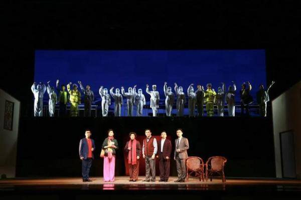 《谷家大事》入选中国戏剧家协会2020年重点题材新创剧目改稿会