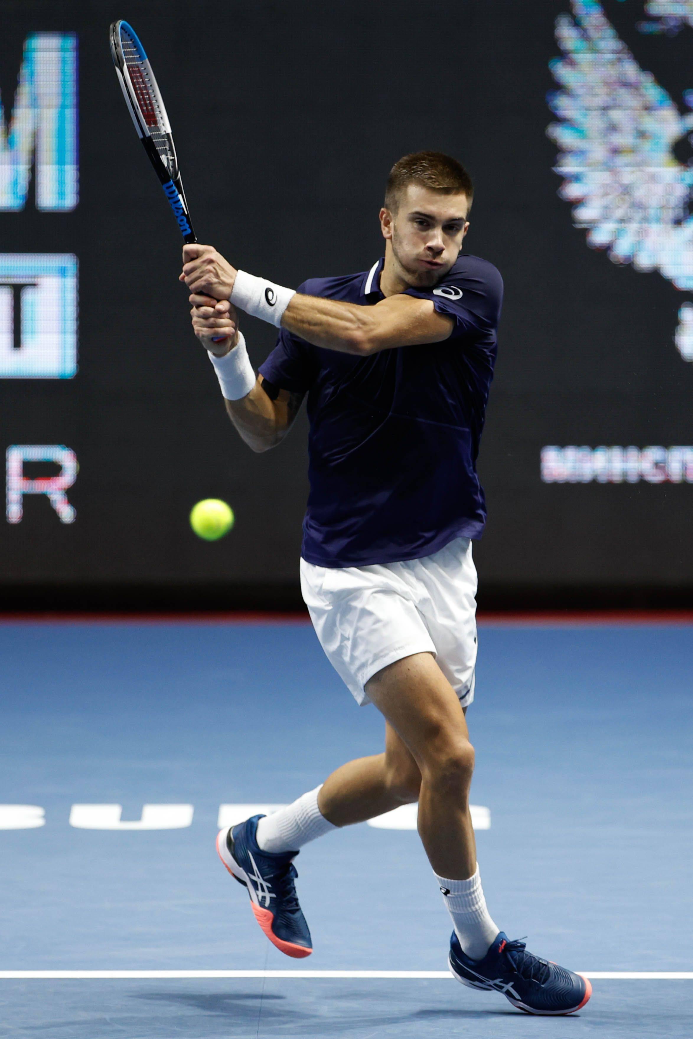 网球——圣彼得堡公开赛:乔里奇晋级半决赛