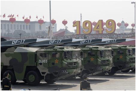"""台媒炒作解放军在东南沿海部署""""东风—17""""称其可威慑美国航母"""