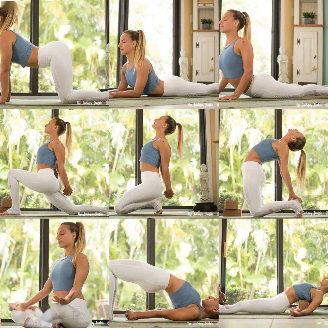 干货分享!2020年度最实用的15套瑜伽序列送给大家