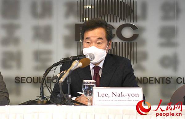 韩国执政党党首李洛渊:中国是韩国举足轻重的合作伙伴