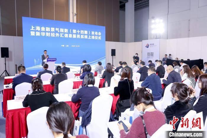 """上海金融景气指数增长9.5% 金融倾力服务""""六稳""""""""六保"""""""