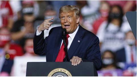 """特朗普的密码是""""Maga2020!""""?白宫紧急响应 特"""