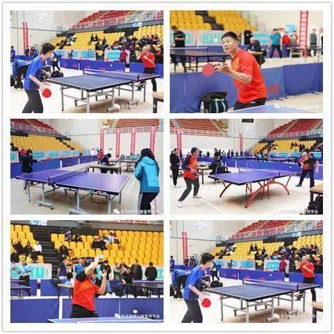 【全民健身】锡林郭勒盟举办第七届体育大会乒乓球比赛