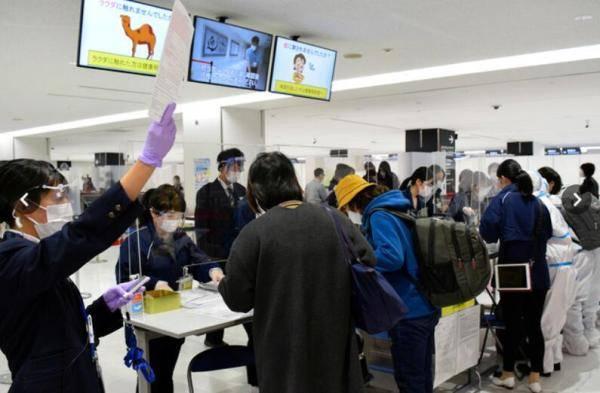 日本取消来自中韩等国家和地区入境人员在机场的病毒检测环节