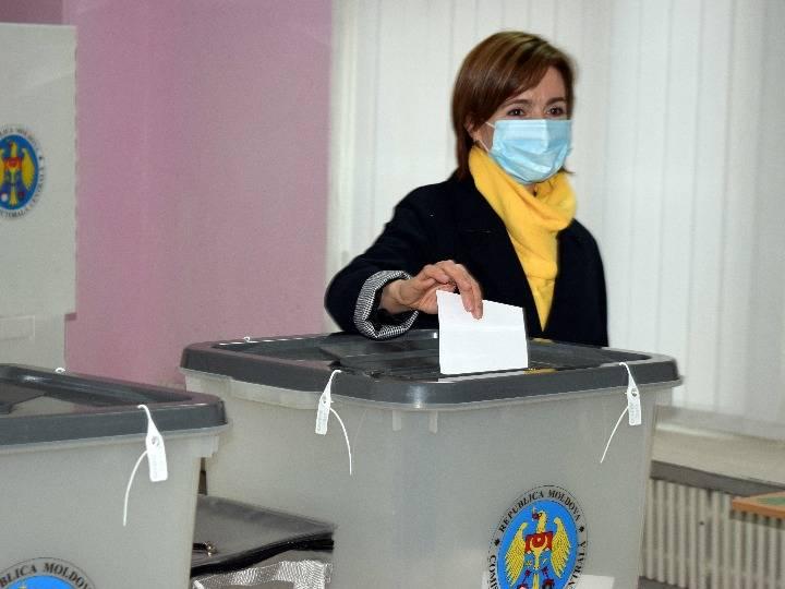 摩尔多瓦公布总统选举初步结果