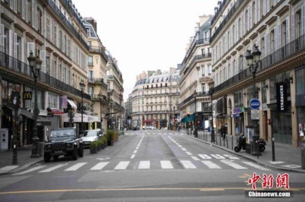 """法国确诊病例突破150万 官方禁止超市销售""""非必需商品"""""""