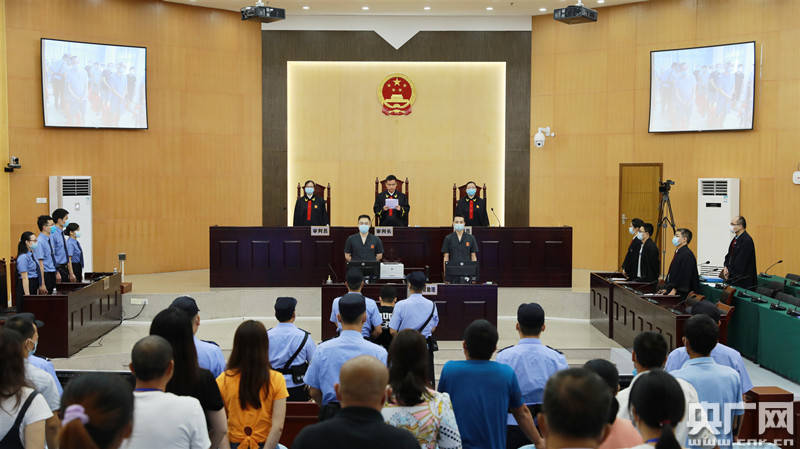 广东高院终审宣判一起23人涉黑案