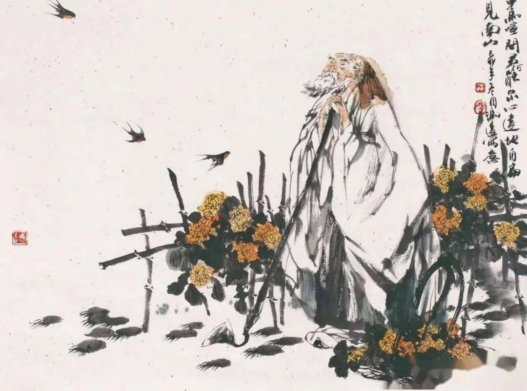 陶渊明赞扬菊花的诗句