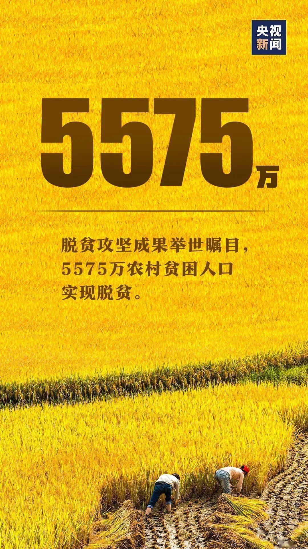 举世瞩目5575万农村贫困人口实现_农村贫困人口实现