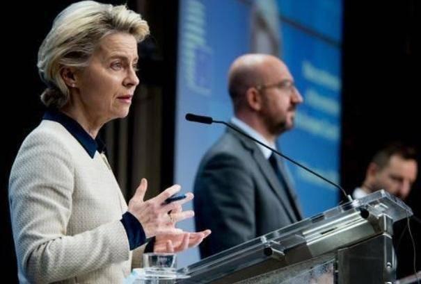 欧盟视频峰会讨论就抗疫加强协调