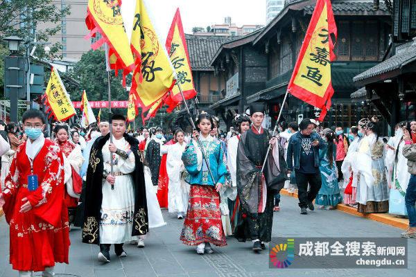 全国首条汉服特色文化街 2021年春节成都亮相