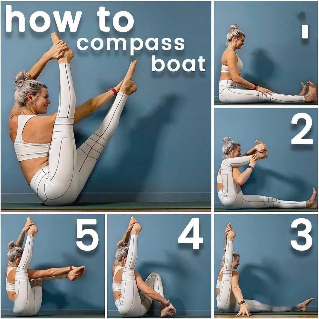 18个高难度进阶瑜伽体式,你解锁了几个?_核心