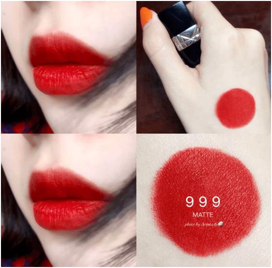 每个女生都该有一只正红色口红!