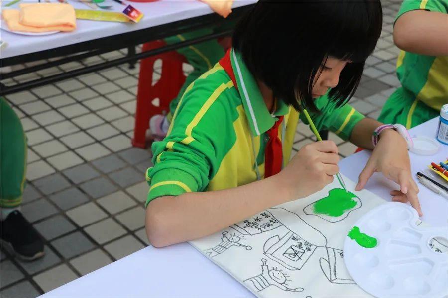 创意无限!祈福毓秀小学学生手绘垃圾分类