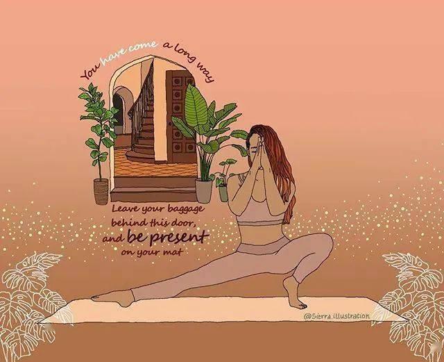 INS上最新的42张瑜伽漫画图片,每一张都超好看!(收藏级)_女性