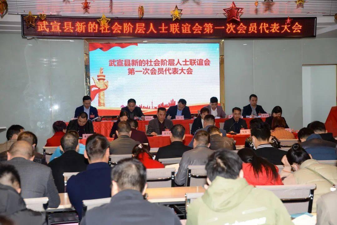武宣县新的社会阶层人士联谊会第一次会员代表大会暨成立大会隆重举行