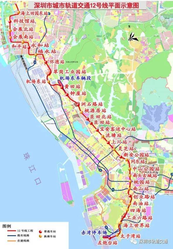 地铁12号线示意图,12号线计划2022年开通试运营