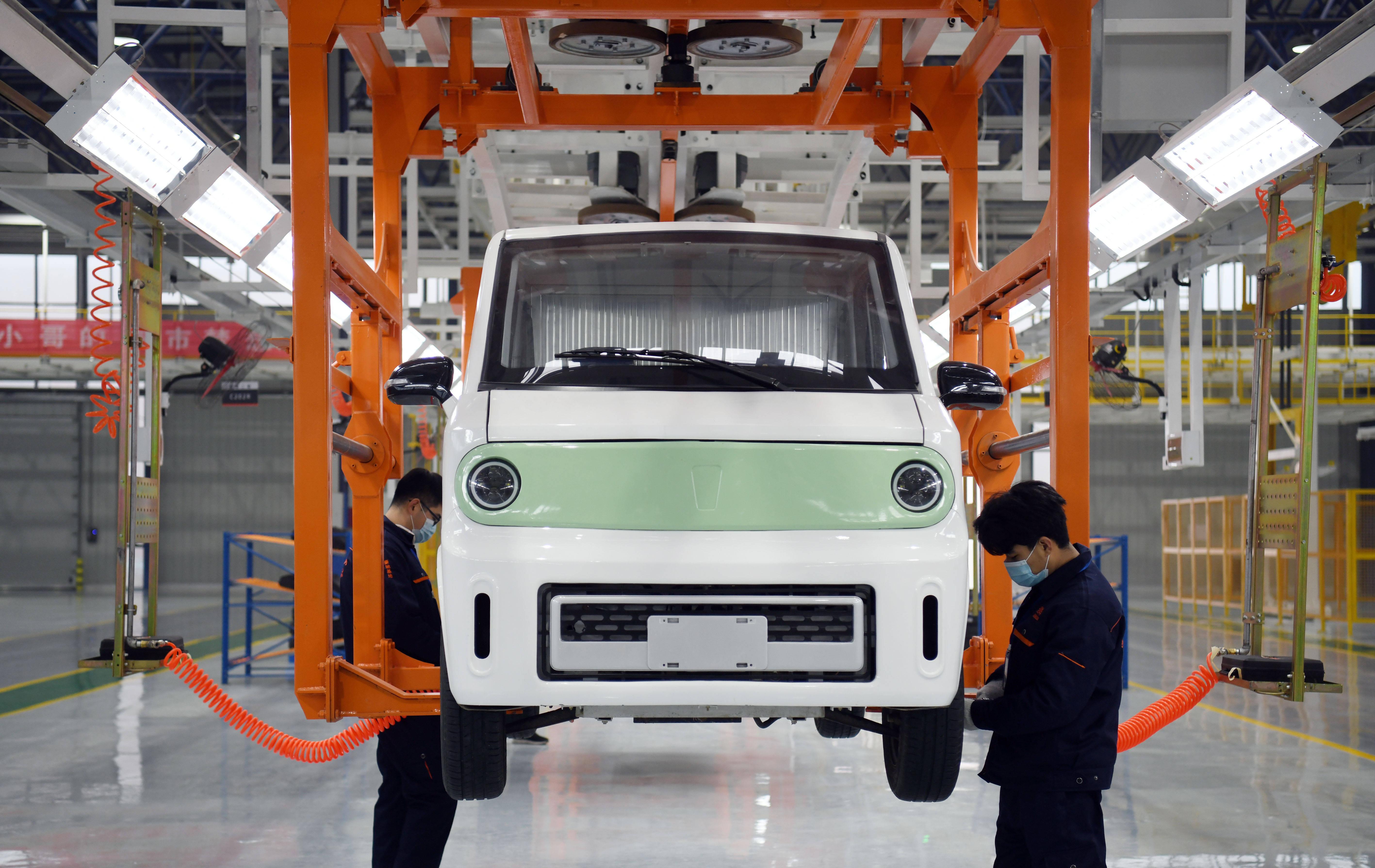 山东莱芜:智能新能源商用车制造基地投产