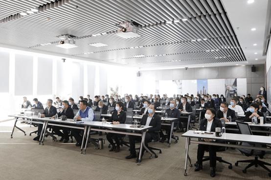 中庆集团组织中高层领导干部学习攀成德建筑业年度论坛