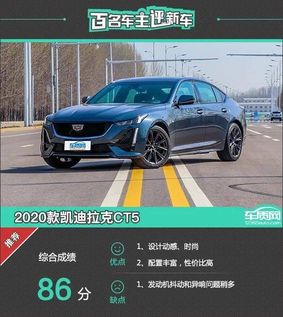 数百名车主评价新车:2020凯迪拉克CT5