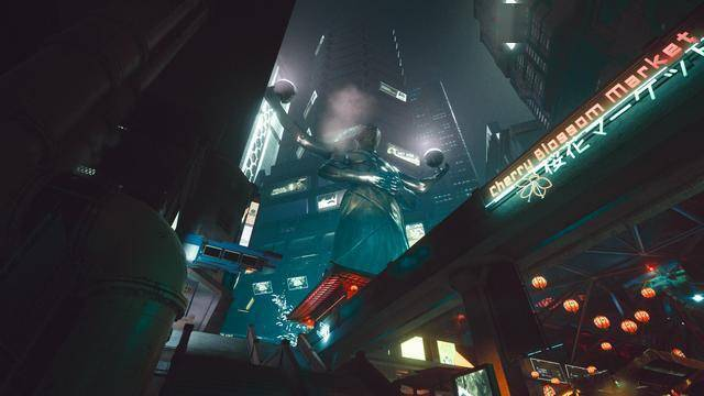 赛博朋克2077:夜城也是人不吐骨头的舞台 或许你还记得《猫与狼一起玩耍的地方》?
