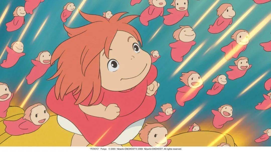 宫崎骏动画 悬崖上的金鱼姬 确定引进图片