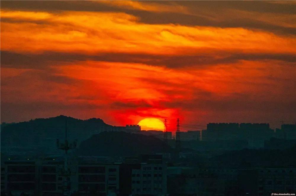嗨,2021年顺德第一缕阳光~