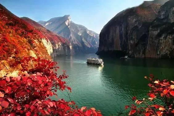 长江全貌,真的好美好美