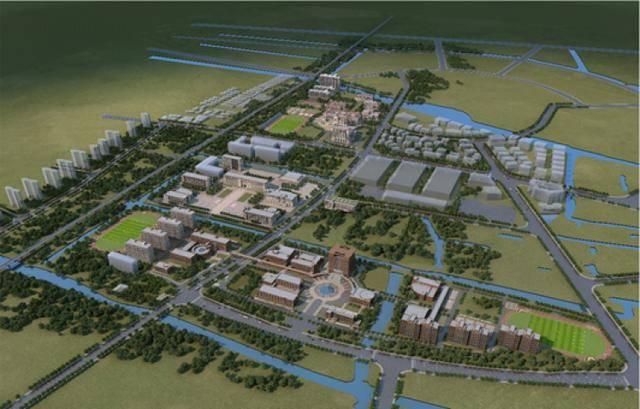 """又有一所高校基建项目开工!浦东的""""象牙塔""""正越变越美"""
