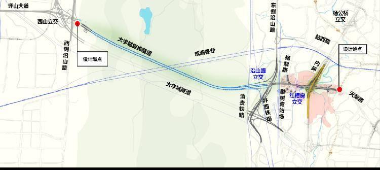 喜大普奔!科学城隧道陶家隧道集中开工
