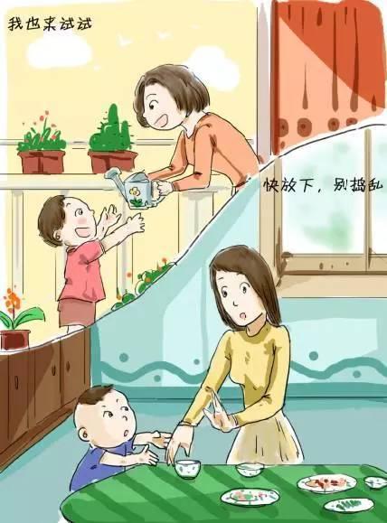 惯子还是育子?10幅漫画告诉你答案......  第6张