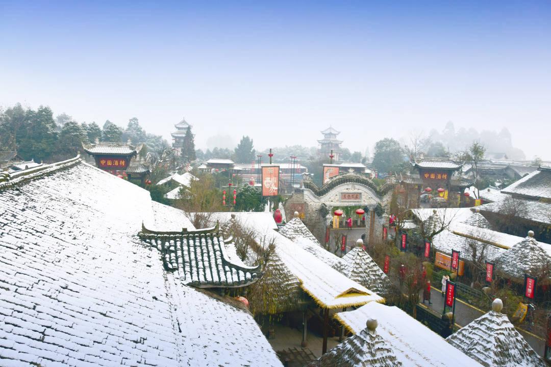 皑皑田园雪未化,周末跟着这份成都乡村玩雪地图去雪地里撒点野