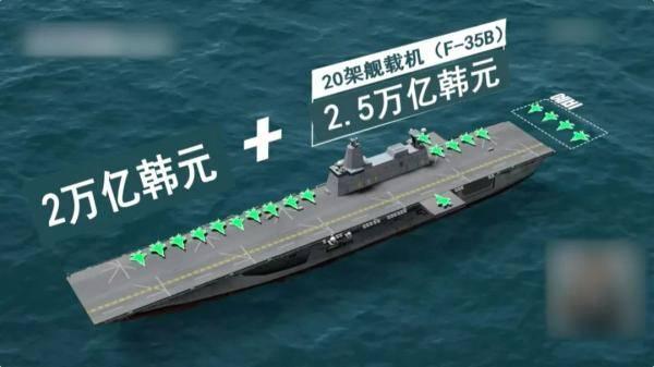韩国航母设计图被媒体曝光,引发巨大争议