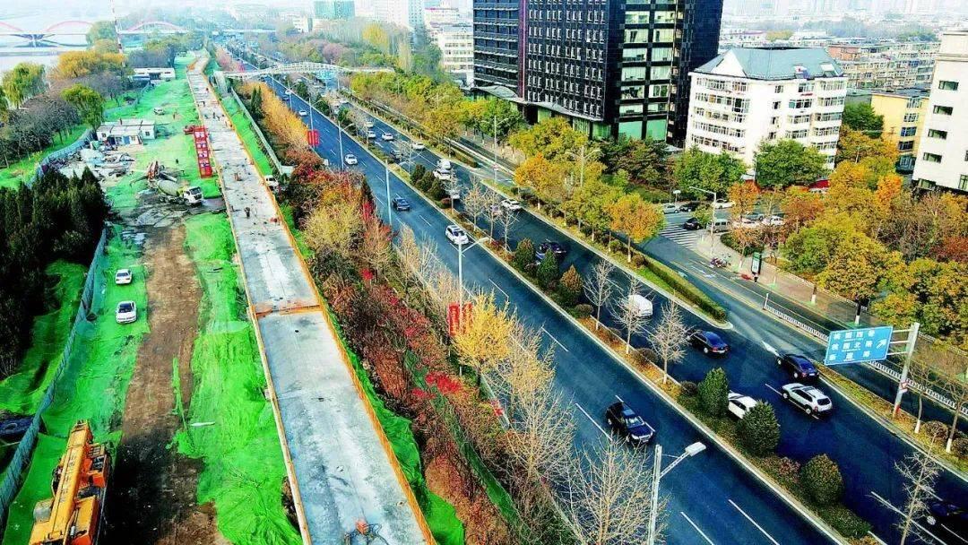 太原滨河自行车专用道主体完工,预计今年可建成试运行!