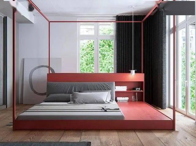 105平复式房,半包才花了9万,花了1万特别定制的床见过没?