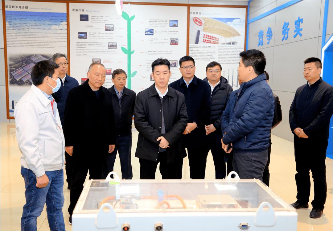 陈少荣到浈江产业园调研:大力支持园区及中小企业发展