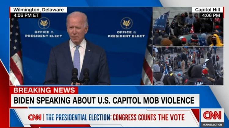 特朗普疯了!煽动粉丝袭击美国国会,现场被洗劫一空