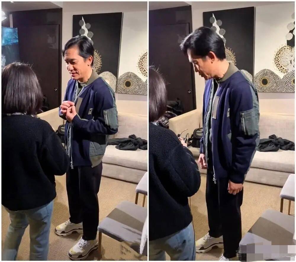 59岁梁朝伟近照曝光,昔日男神老态尽显,网友说他状态不如刘德华  第2张