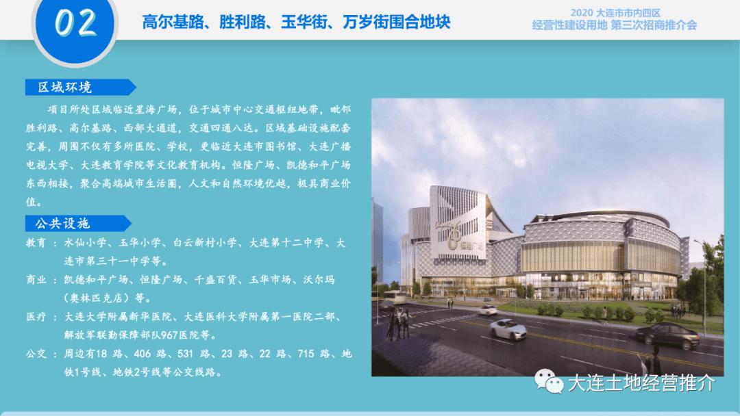 2020年天顺娱乐主管大连市市内四区经营性建设用地第三次招商推介会